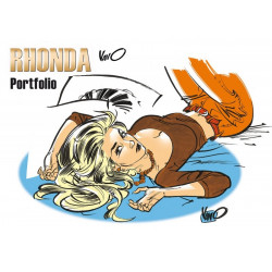 Rhonda - porfolio 5 illustrations