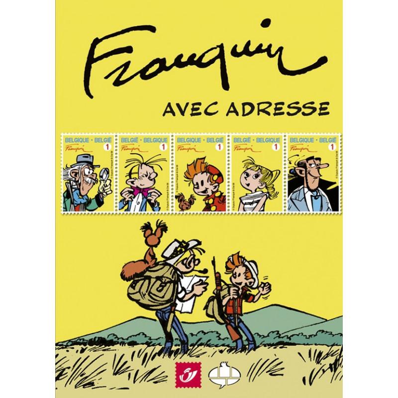 Spirou : Franquin avec adresse (Tirage normal)