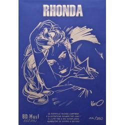 Rhonda - porfolio blue 6 illustrations