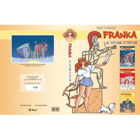 Franka - illustration du triptyque