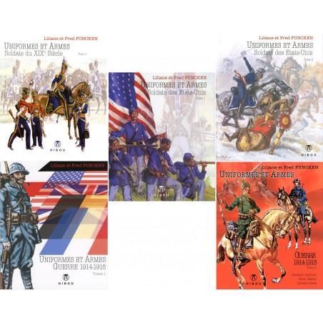 Uniformes et Armes (5 volumes) par L&F Funcken