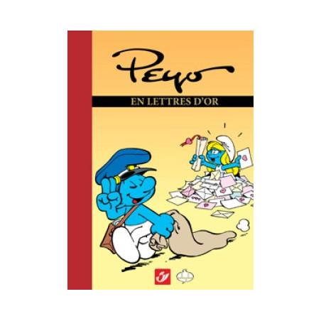 Schtroumpfs: Peyo en lettres d'or (Tirage luxe)