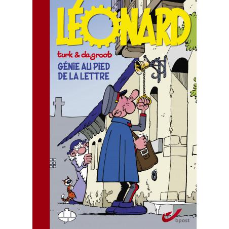 Léonard : Génie au pied de la lettre (Tirage luxe)