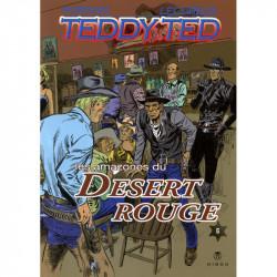 Teddy Ted - tome 6 : Les amazones du désert rouge - couverture