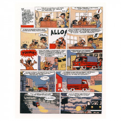 Ambroise et Gino : La Villa des Sortilèges (planche 1)