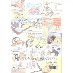 Notre dessin animé en Tintincolor (verso)