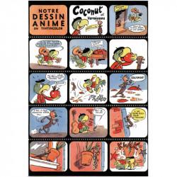 Notre dessin animé en Tintincolor avec Coconut et Vermisseau