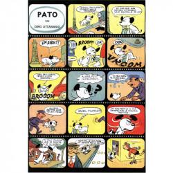 Notre dessin animé en Tintincolor avec le chien Pato