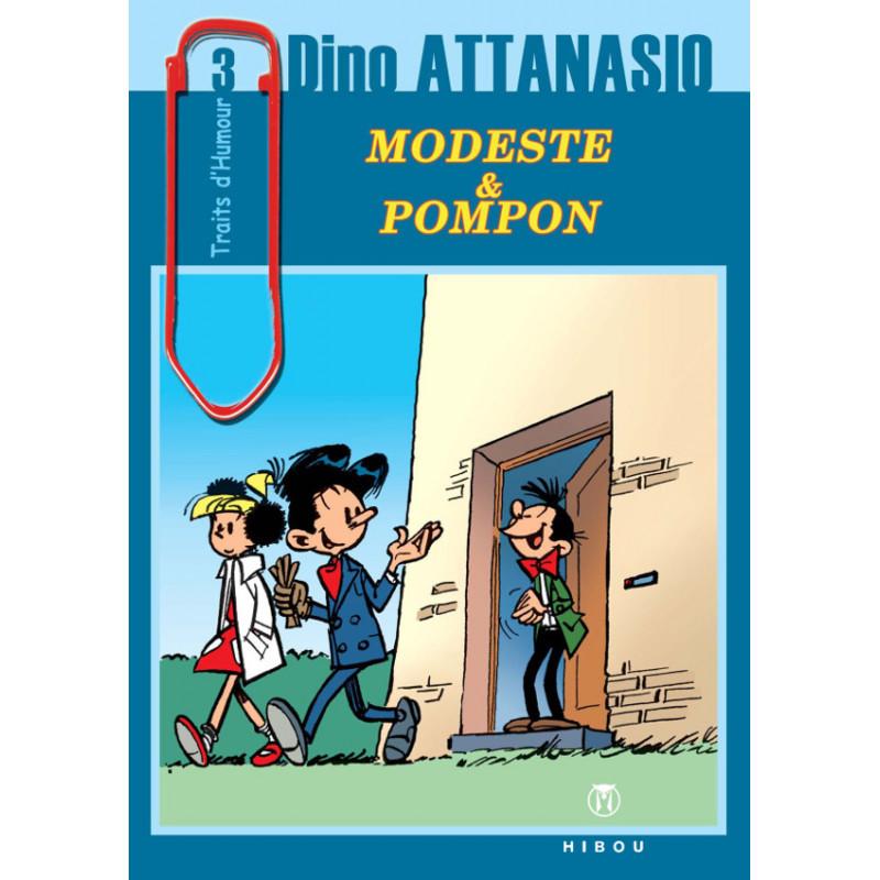 Modeste et Pompon, collection Traits d'humour, tome 3