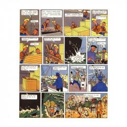 Luc et Laplume : Le trône de Gilgit (extrait)