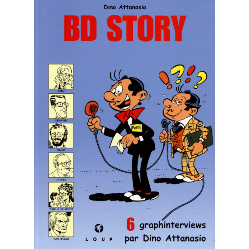 BD Story : 6 graphinterviews