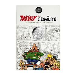 Astérix - Egalité : Groupe 10€ en argent, cartelette