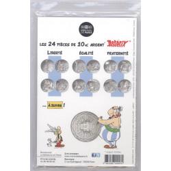 Astérix - Egalité : Distribution de potion, 10€ en argent, dos cartelette