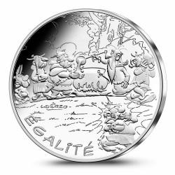 Astérix - Egalité : Distribution de potion, 10€ en argent, face