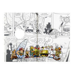 Astérix - Egalité : Distribution de potion, 10€ en argent, intérieur cartelette