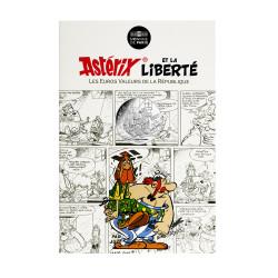 Astérix - Liberté : Chaines, 10€ en argent, cartelette