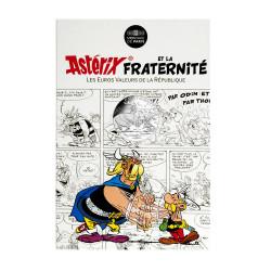 Astérix - Fraternité : Normands, 10€ en argent, cartelette