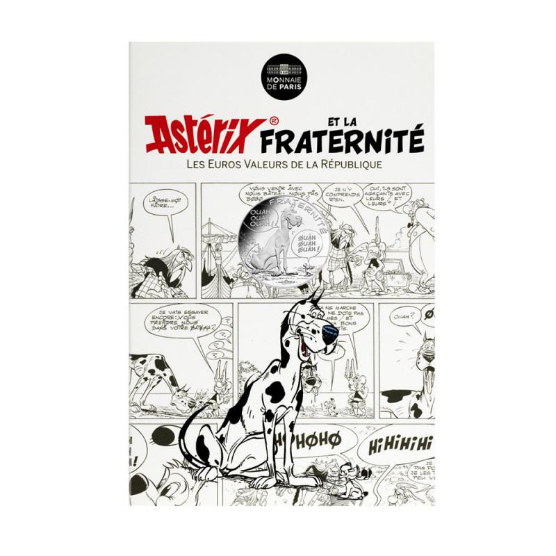 Astérix - Fraternité : Danois, 10€ en argent, cartelette