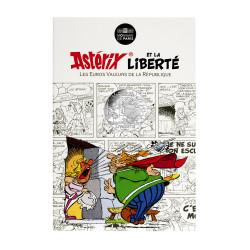 Astérix - Liberté : Bonemine 10€ en argent, cartelette