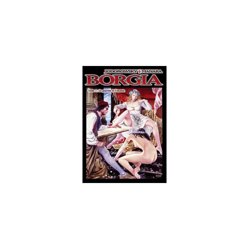 Borgia - T2 : Le pouvoir et l'inceste (TT)