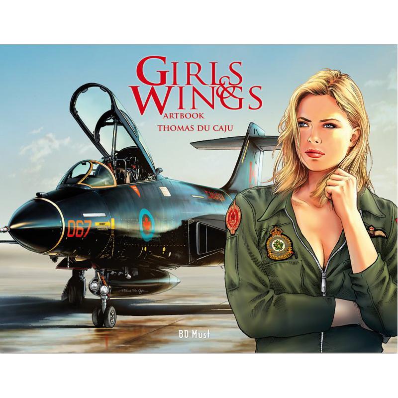 Girls & Wings - Artbook, par Thomas Du Caju