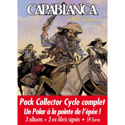 Capablanca - pack collector 3 albums, par Mundet