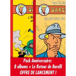 Pack anniversaire Barelli : 9 albums