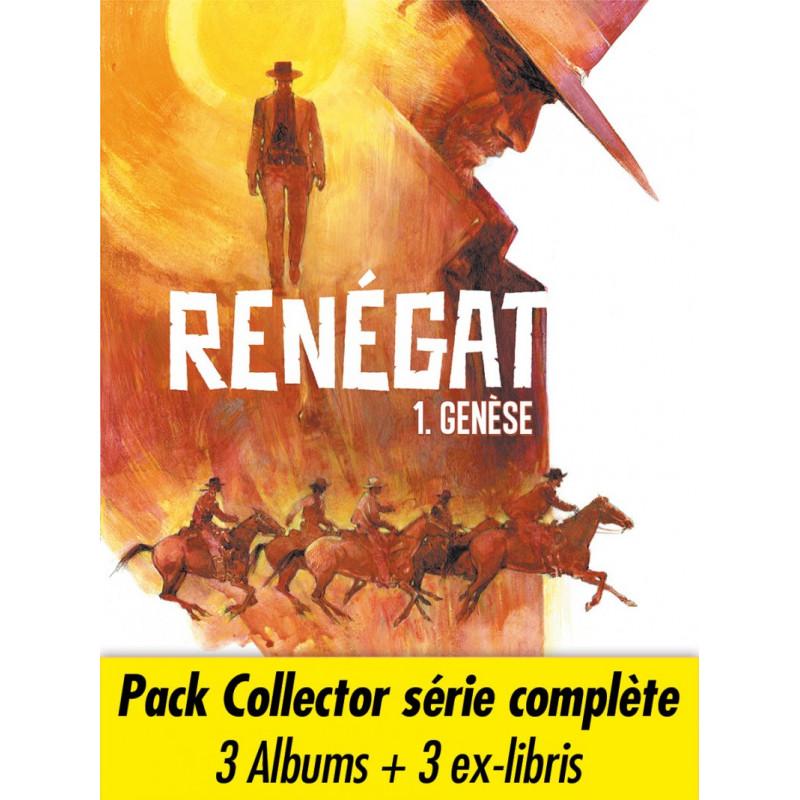 Renégat - Pack collector de 3 albums, par Carlos Estefan et Pedro Mauro