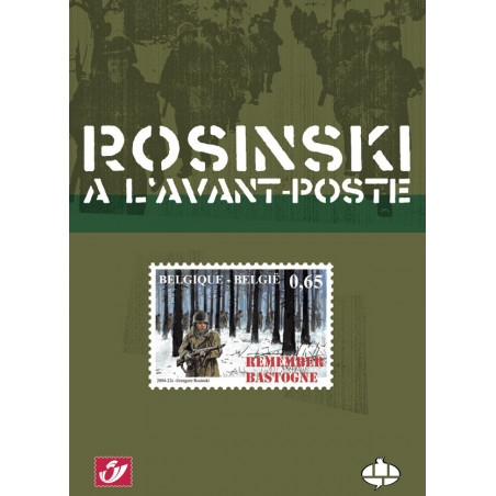 Rosinski à l'avant-poste (Tirage normal)