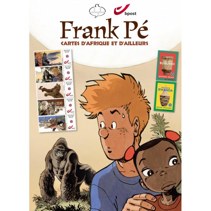 Frank Pé - cartes d'Afrique et d'ailleurs (Tirage normal)
