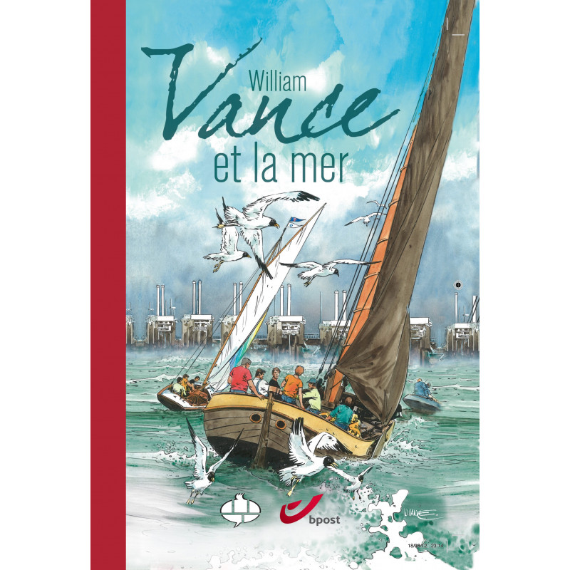 William Vance et la mer (Tirage luxe)