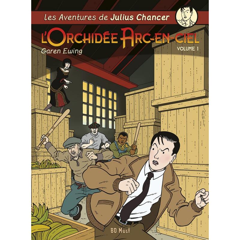 L'Orchidée Arc-en-Ciel T1, 2, 3 - 3 albums avec ex-libris