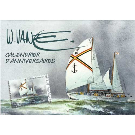 William Vance et la mer : Calendrier anniversaires