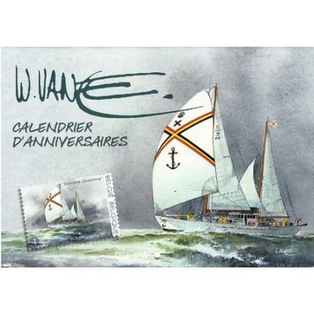 William Vance et la mer : Calendrier anniversaires