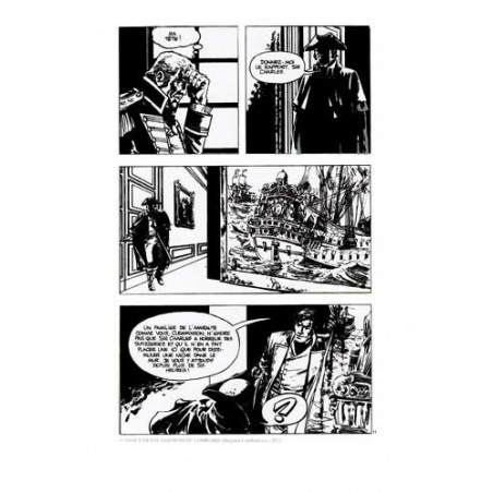 William Vance et la mer : film planche Howard Flynn