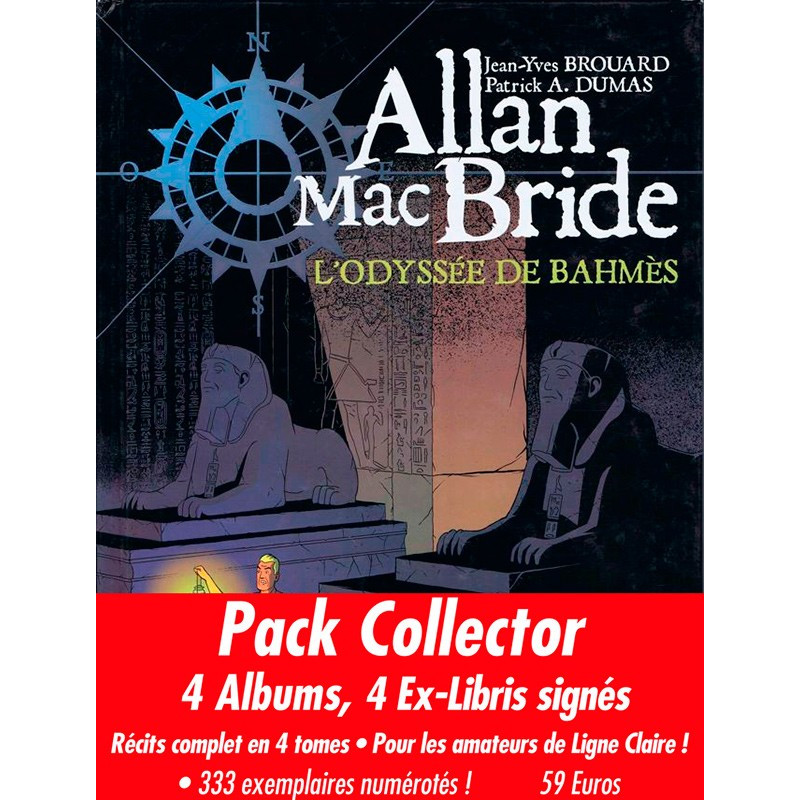 Allan Mac Bride - Pack collector de 4 albums