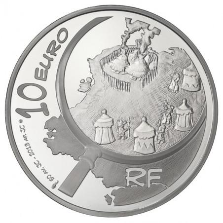 Astérix : Pièce de 10 EUR en argent