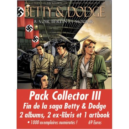 Betty & Dodge T7, 8 - 2 albums avec ex-libris + Art Book