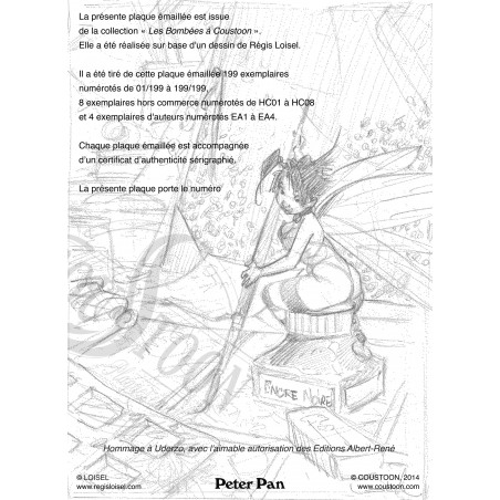 Loisel - Peter Pan : Clochette (certificat)