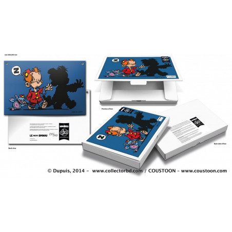 Tome & Janry - Le Petit Spirou (packaging)