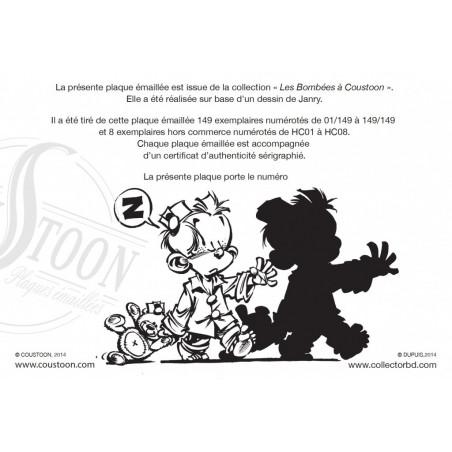 Tome & Janry - Le Petit Spirou (certificat)