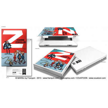 Franquin - Spirou : Z comme Zorglub (packaging)