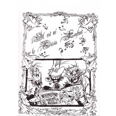 Cartes de voeux - Marc Hardy (Pierre Tombal)