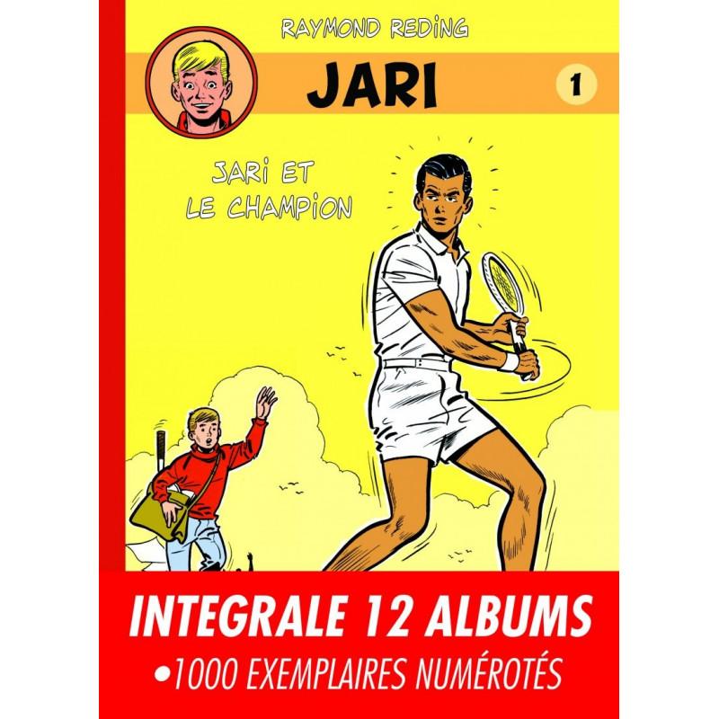 Raymond Reding - Jari - intégrale en 12 albums