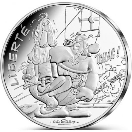 Astérix - Liberté : Chaînes 10€ en argent