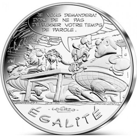 Astérix - Egalité : Parole 10€ en argent