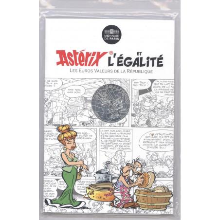 Astérix - Egalité : Vaisselle 10€ en argent