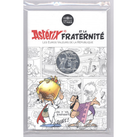 Astérix - Fraternité : Grecs 10€ en argent