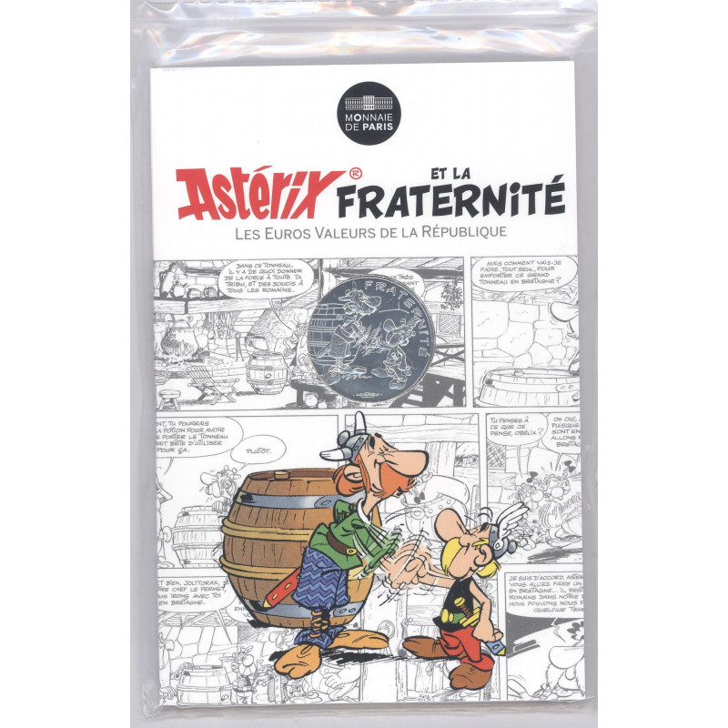 Astérix - Fraternité : Bretons 10€ en argent